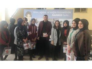 SANKO Üniversitesi Osmaniye'de eğitim ve kariyer fuarına katıldı