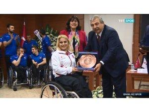 Engelleri aşmak sempozyumu TRT Spor'da yer aldı