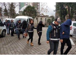 Samsun'da silah kaçakçılığından 6 kişi adliyeye sevk edildi