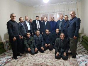 Başkan Epcim, Zavite ailesine konuk oldu