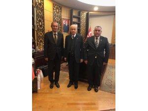 Başkanlar'dan Devlet Bahçeli'ye ziyaret
