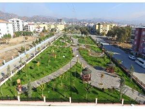 Nazilli'de 2009'dan bu yana yeşil alanlar 3 kat arttı