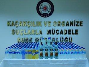 Polisten yılbaşı öncesi kaçak içki operasyonu