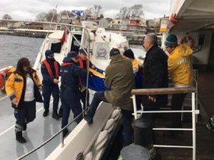 Sahil Güvenlik ekipleri Büyükada'da rahatsızlanan vatandaşın yardıma koştu