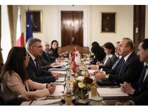 Dışişleri Bakanı Çavuşoğlu, Maltalı mevkidaşıyla görüştü