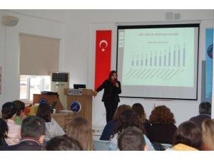 Kumluca Meslek Yüksekokulu'nda Kök Hücre Bağışı Semineri Düzenlendi