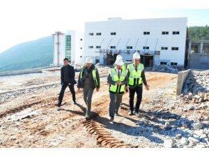 Yeni Milas Devlet Hastanesi'nde çalışmalar sona yaklaşıyor