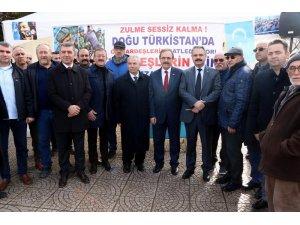 Başkan Şahin'den Doğu Türkistan'daki zulme tepki