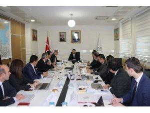 Bitlis'te DAKA Yönetim Kurulu toplantısı