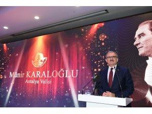 Vali Karaloğlu'dan kahraman vurgusu