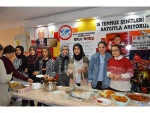 Mustafa Erdemoğlu Anadolu Lisesinden Yemen'e destek