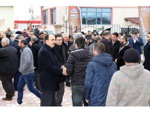 Başkan Altay Konimsan'da esnaflarla buluştu