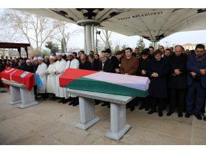 Filistin'in İstanbul Başkonsolosu El-Hatip, son yolculuğuna uğurlandı