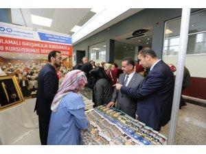 Şahinbey Belediyesi GAİF standına yoğun ilgi