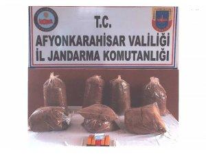 Kaçak tütün satan kişiye 10 bin 515 lira ceza