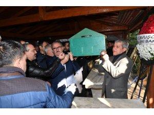 AGC Başkanı Mevlüt Yeni'nin kayınbabası toprağa verildi