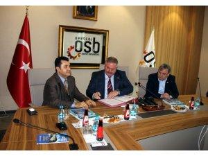 25 milyon TL'lik Kayseri Uluslararası Fuar ve Kongre Merkezi'nin 2. holünün imzası atıldı