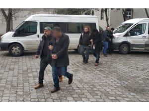 Samsun'da uyuşturucu operasyonu, aynı aileden 4 şahsa gözaltı