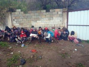 Hatay'da 88 Suriyeli kaçak göçmen yakalandı