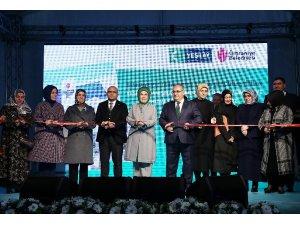 Emine Erdoğan, Ümraniye Yeşilay Danışmanlık Merkezi'nin açılışına katıldı