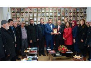 Başkan Gürkan, Şehit Aileleri ve Gazilerle bir araya geldi