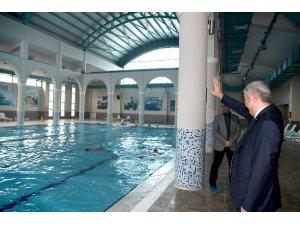 Başkan Polat, çalışmaları yerinde inceledi