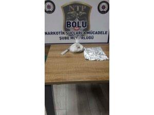 Bolu'da 92 gram eroinle yakalanan 3 zanlı serbest bırakıldı