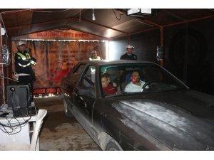 Sürücüler yaşam tüneli ile bilinçlendi