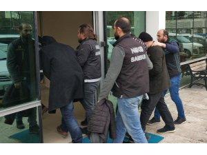 Samsun'daki uyuşturucu operasyonunda 1 tutuklama