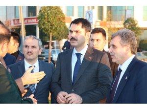 Çevre ve Şehircilik Bakanı Kurum Şanlıurfa'da