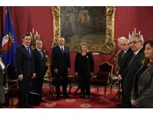 Bakan Çavuşoğlu, Malta Cumhurbaşkanı Preca ile görüştü