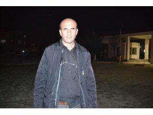 Şuhut'ta römork hırsızları tarlalara dadandı