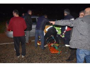 Sinop'ta trafik kazası 7 Yaralı