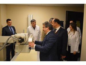 Akkışla İlçe Entegre Hastanesi röntgen ünitesi açıldı