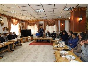 Başkan Başsoy, personelle buluşmaya devam ediyor