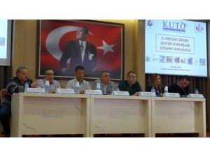 KUTO 6. Meslek Komitesi sektör sorunları toplantısı yapıldı