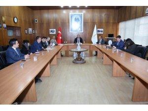 Kütahya'da ZEKA Yatırım Destek Ofisi Toplantısı