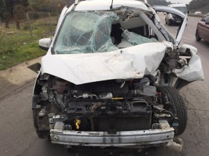 Sultangazi'de zincirleme trafik kazası