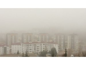 Elazığ'da sis etkili oluyor