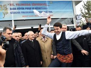 Kemal Kılıçdaroğlu Erzurum'da