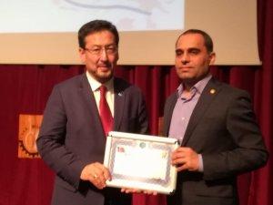 Uşak'ta Doğu Türkistan konulu konferans gerçekleştirildi