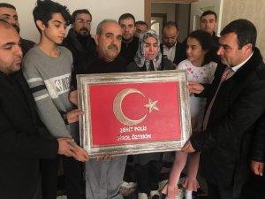 Şehit polis Birol Öztekin'in ailesine ziyaret