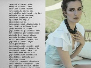 İrem Helvacıoğlu'na 'O Ses Türkiye' yasağı