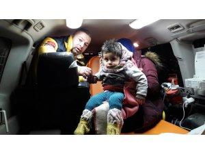 Sara nöbeti geçiren çocuğa 8 saat sonra ulaşıldı