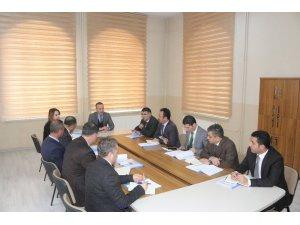 """Ağrı'da """"2023 Eğitim Vizyonu Çalıştayı bilgilendirme toplantısı"""""""