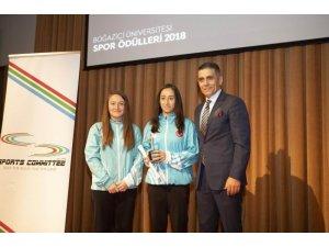 Erzincanlı Milli Sporcular ödüle layık görüldü