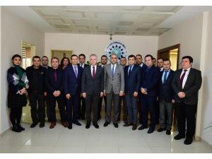 Gaziantep Valisi Davut Gül, İKA'yı ziyaret etti