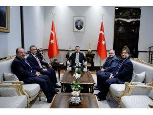 Cumhurbaşkanı Yardımcısı Oktay, Uluslararası Üniversiteler Konseyi Yönetimini kabul etti