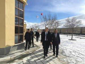Kaymakam Aydın'dan Kapıköy Sınır Kapısına ziyaret
