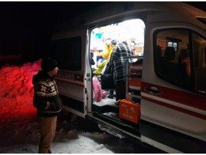 Ağrılı hasta 7 saatte Van'a ulaştırıldı